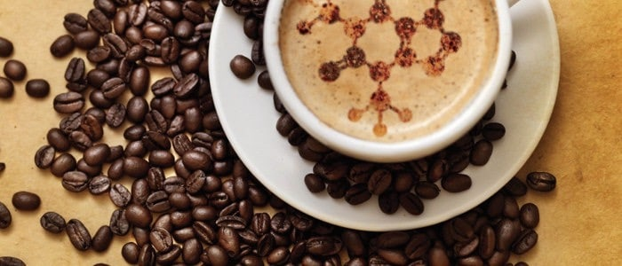 A cup of coffee with modafinil